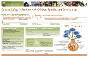 Cultural Safety in Practice with Children, Families and Communities