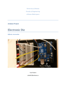 Electronic Die - Faculty of Engineering