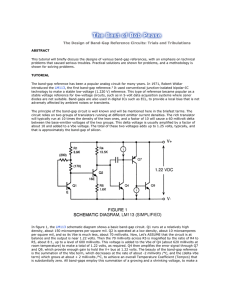 The Design of Band-Gap Reference Circuits: Trials and Tribulations