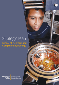 Strategic Plan - School of Electrical and Computer Engineering at