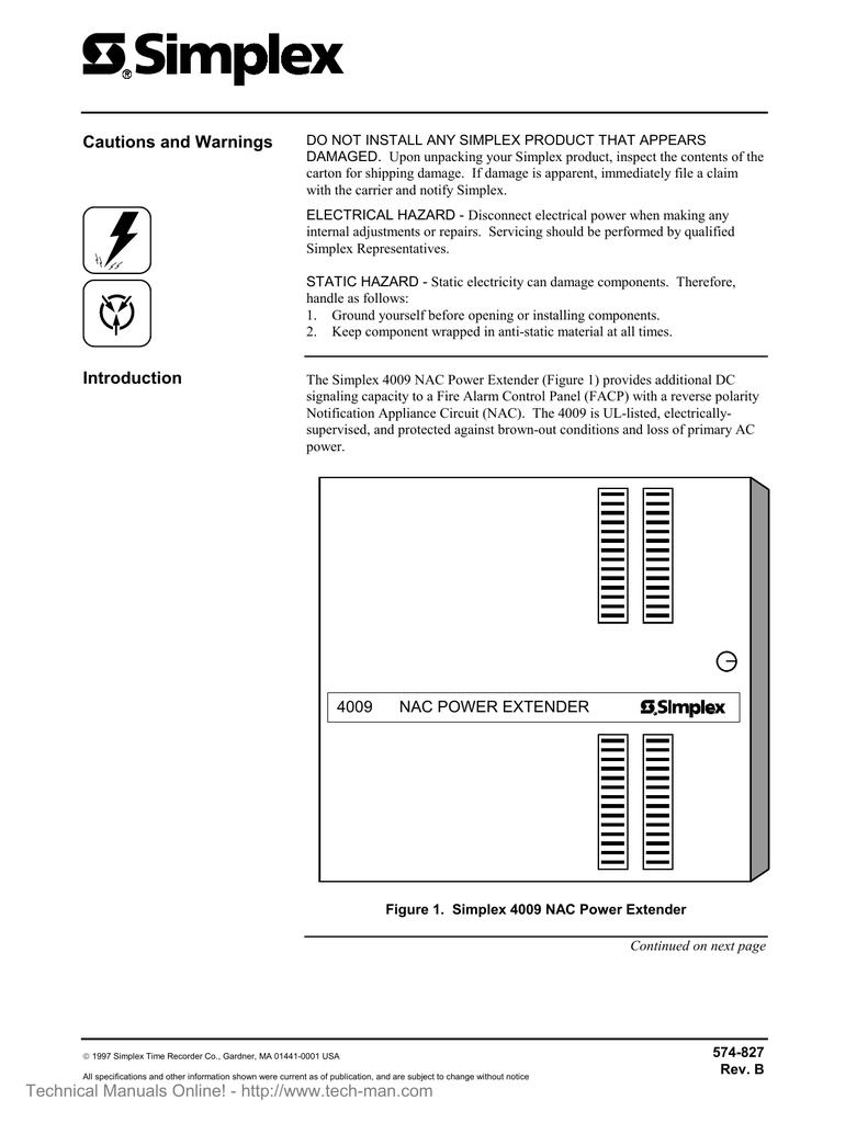 Simplex 4009+NAC+Power+Extender+Rev+A