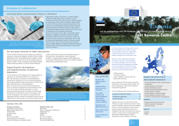 Estonia and its collaboration with the European