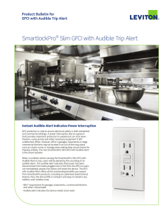 SmartlockPro® Slim GFCI with Audible Trip Alert