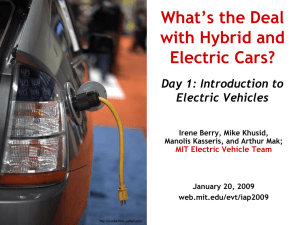 What`s the Deal with Hybird and Electric Cars?