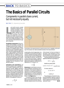 The Basics of Parallel Circuits