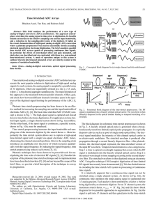 Time-stretched ADC arrays - Circuits and Systems II: Analog and