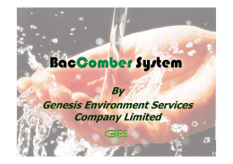 By Genesis Environment Services Company Limited