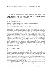 A MATRIX APPROACH FOR THE EVALUATION OF THE INTERNAL