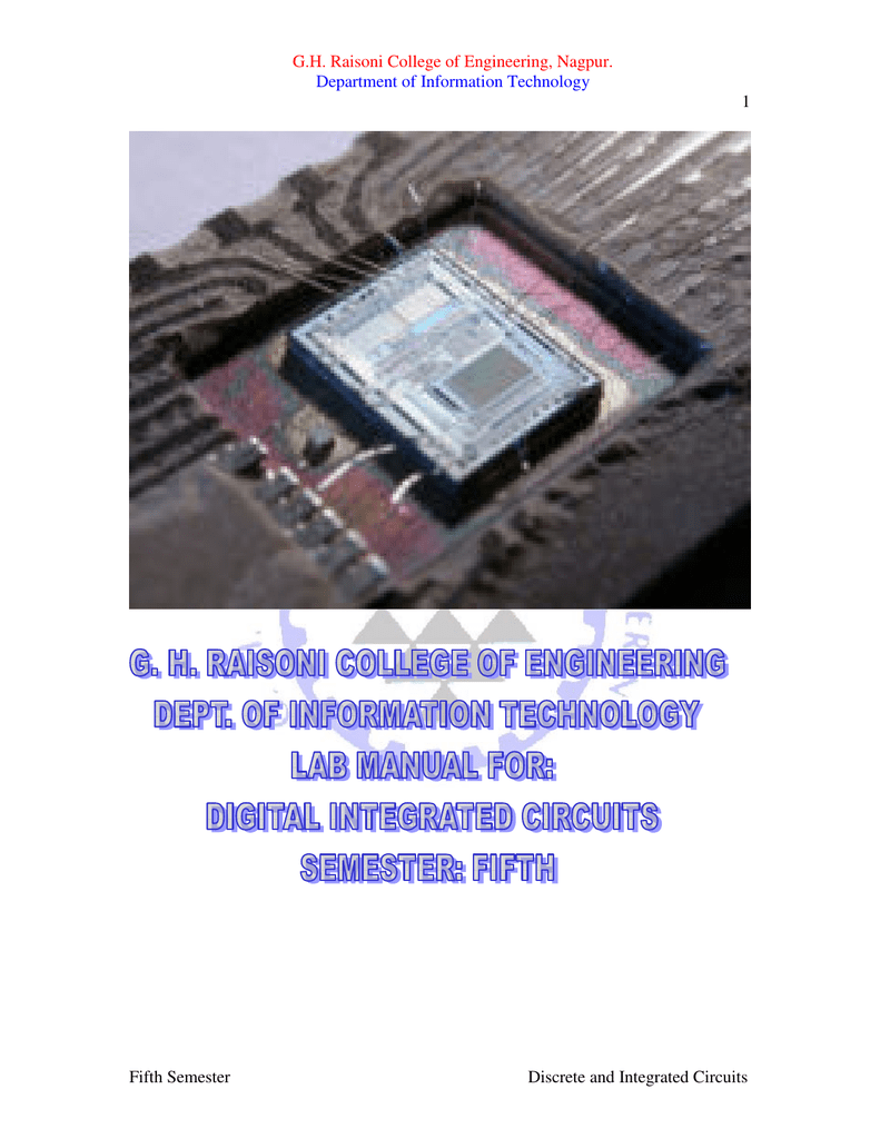 Dic 5it Gh Raisoni College Of Engineering Nagpur Summing Amplifier Inverting Adder Circuit Using Op Amp 741 Pictures