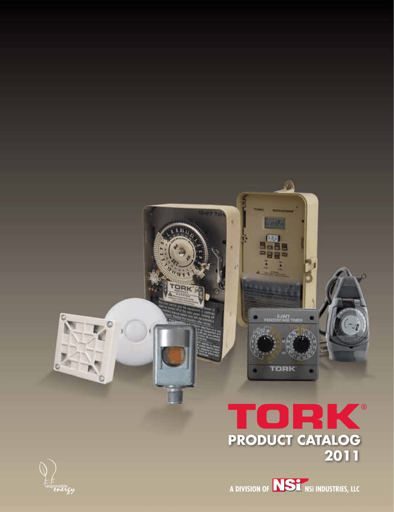 TORK In-Wall Springwound A512HHW Interval Time Switch White 0-12 Hours with Hold