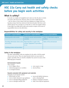 Sample pages from S/NVQ Level 2 Health and Social Care Cadidate