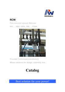 Recloser Catalog-RWK-2RCB