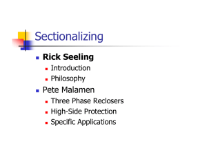 Sectionalizing Philosophies