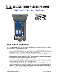 SEL-351R Falcon Data Sheet