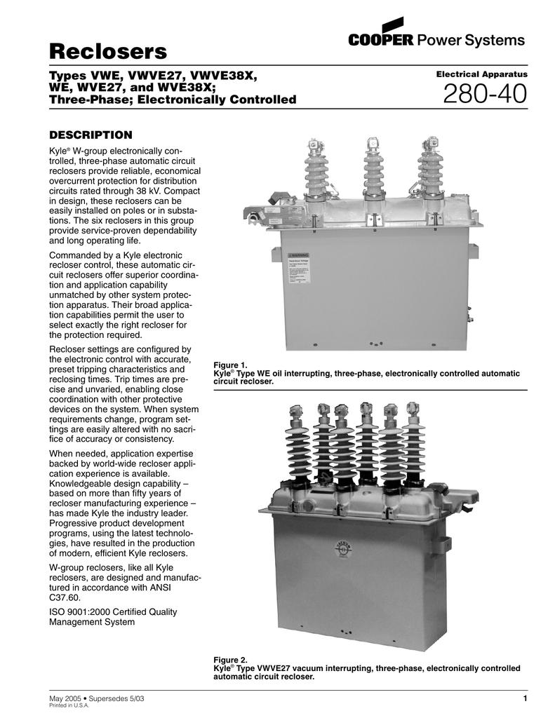 Reclosers - Apparatus | ABB