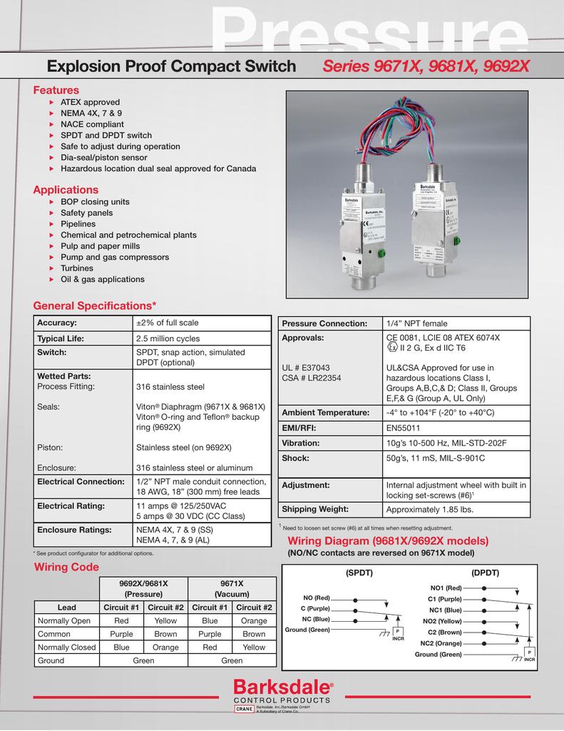Series 9671X, 9681X, 9692X Datasheet on actuator wiring diagram, solenoid wiring diagram, compressor wiring diagram, distributor wiring diagram, temperature switch connector, motor wiring diagram, coil wiring diagram, transformer wiring diagram, condenser wiring diagram, gauge wiring diagram, thermocouple wiring diagram, contactor wiring diagram, pressure wiring diagram, starter wiring diagram, sensor wiring diagram, temperature switch sensor, control wiring diagram, temperature switch schematic, timer wiring diagram, controller wiring diagram,