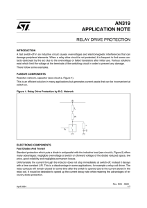AN319 APPLICATION NOTE