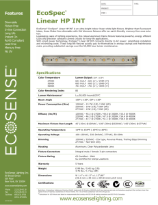 EcoSpec-Linear-HP-INT-05LC_Spec Sheet