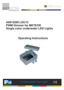 A9915200_LDU13 Meteor-Dimmer Manual
