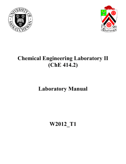 Laboratory Manual W2012_T1 - College of Engineering
