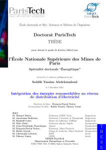 THESE Doctorat ParisTech TH`ESE l`´Ecole Nationale
