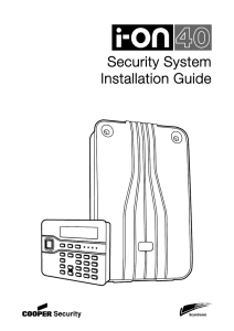 Security System Installation Guide