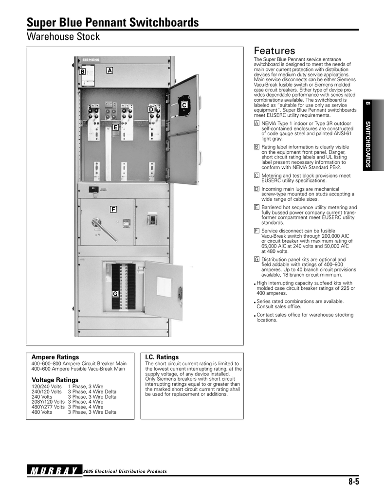 Detailed Specifications 4 Wire Schematic Diagram 480 Volt
