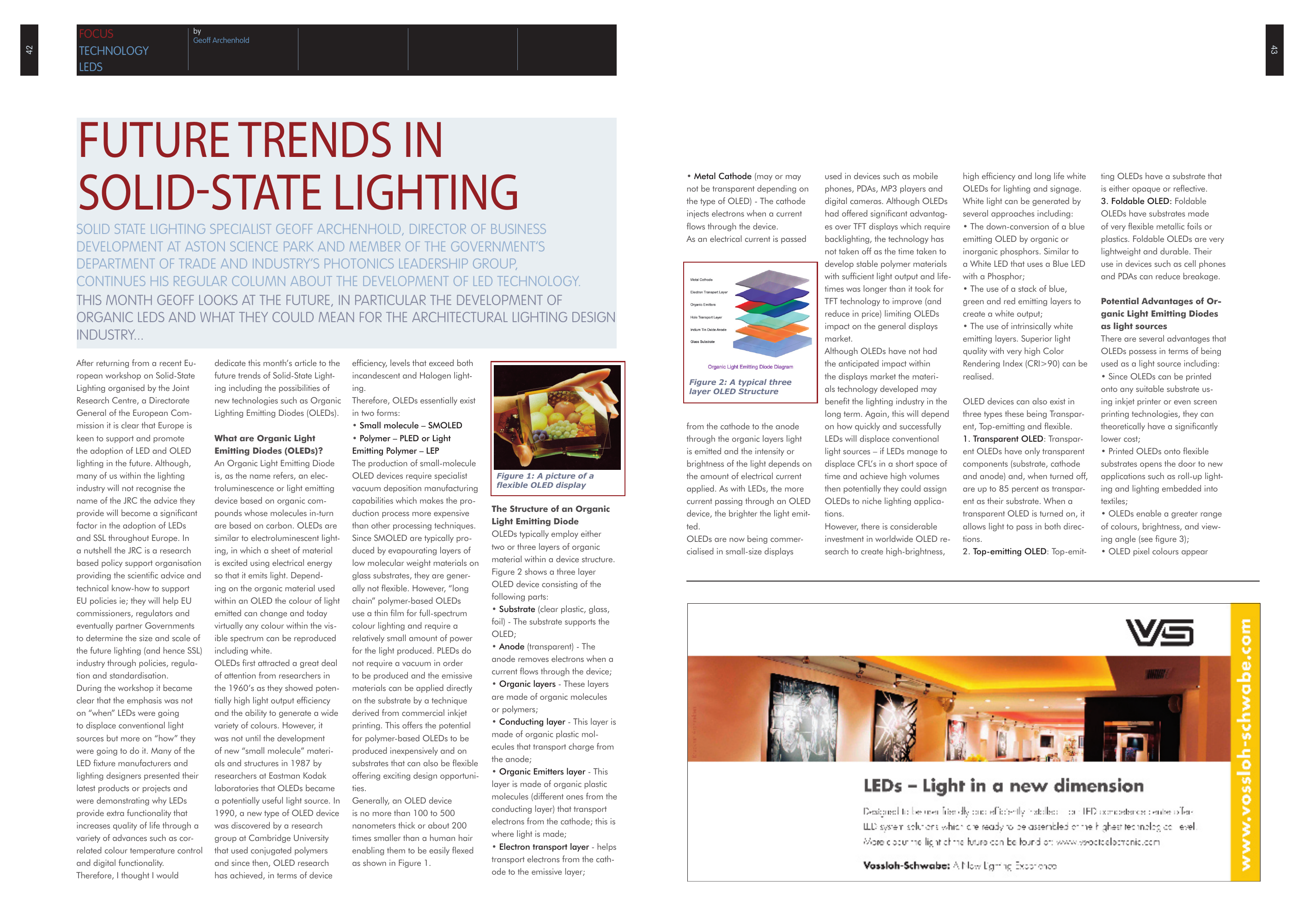 Future Trends In Solid State Lighting