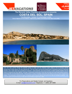 Costa del Sol Spain - Warwick Valley Chamber of Commerce
