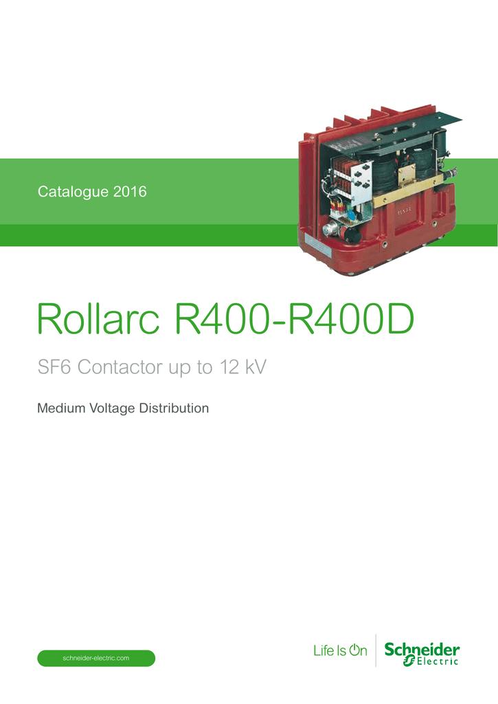 Rollarc R400-R400D - Schneider Electric Belgique