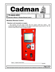TR-MAN-WRC - Cadman Power Equipment