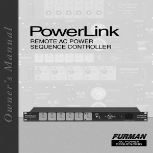 PowerLink - Performance Audio