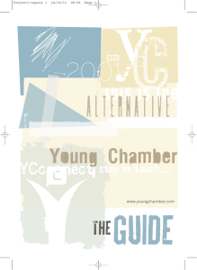 YC - the Guide - Young Chamber