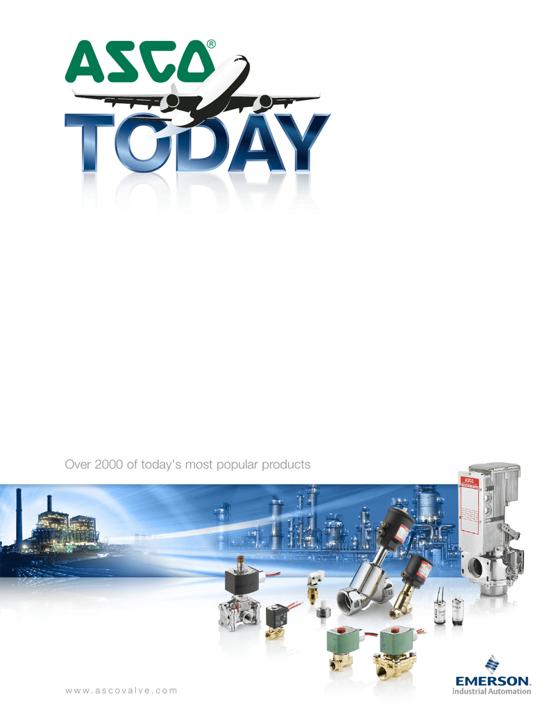 ASCO Solenoid Valve Catalog - Fischer Process Industries on