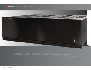 """… EXCEEDS ALL EXPECTATIONS for its price category."""