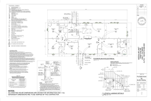 2 floor plan with electrical