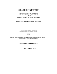 state of kuwait ministry of planning and ministry of public works