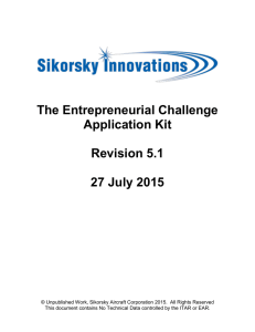 Entrepreneurial Challenge Application Kit