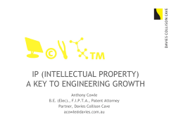 ip (intellectual property) a key to engineering