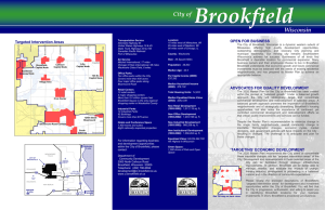 Brookfield Square Area Redevelopment Strategy