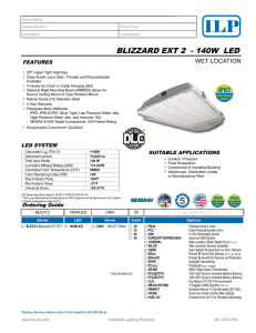 blizzard ext 2 - Industrial Lighting Products