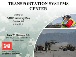 building strong® transportation systems center