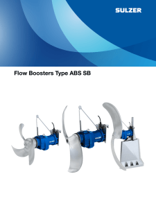 Flow Boosters Type ABS SB