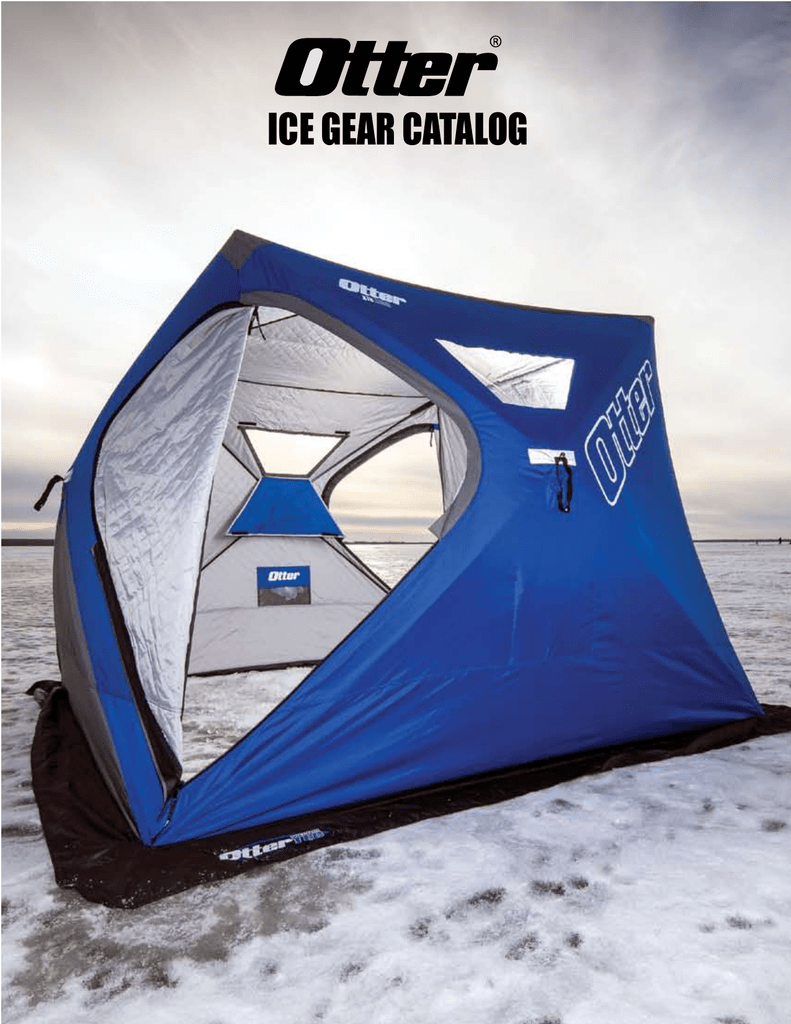 ice gear catalog - Otter Outdoors!
