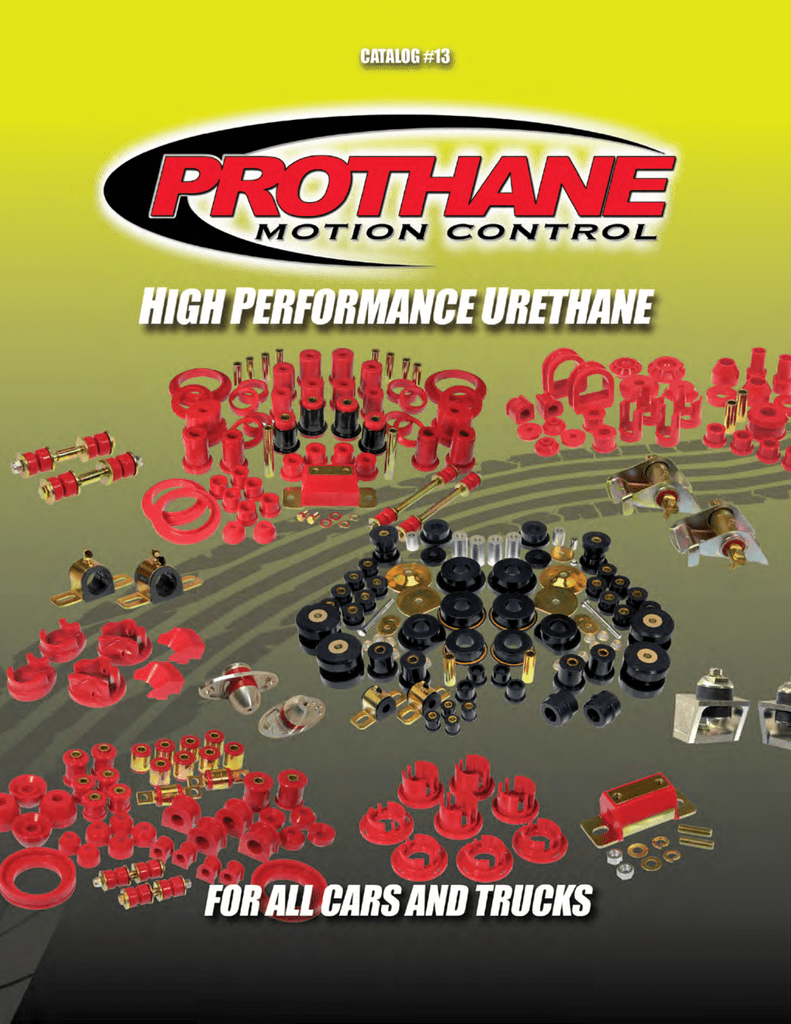 20 Piece Prothane 6-104 Red Body and Cab Mount Bushing Kit