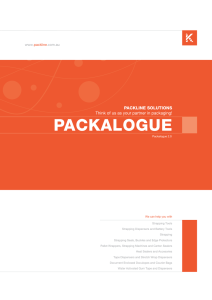 - Packline Solutions