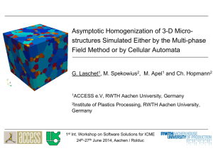 Asymptotic homogenization of 3-D microstructures
