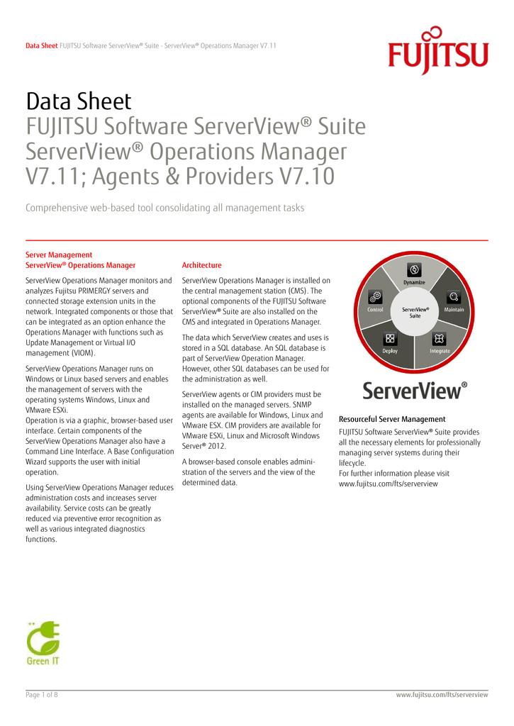 Fujitsu Serverview Esxi Cim Provider Download. DeShone South Better Follow giving Maria