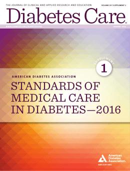 downloads   University of Bedfordshire studylib net ADA  Standards of Medical Care in Diabetes