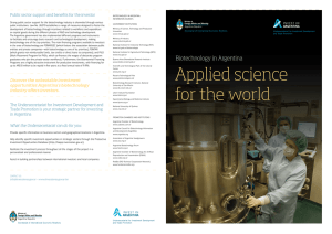 Applied science for the world
